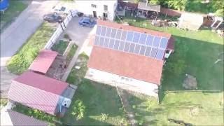 Пилотная гибридная солнечная электростанция для частного дома под Зеленый тариф 4,51кВт(Самая первая наша электростанция в киевской области под зеленый тариф с гибридным инвертором Goodwe GW5048D-ES...., 2016-07-05T13:39:40.000Z)