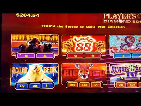 Super Bucks , Big Red , Dollar Bear and 5 Dragons Slot Machines Bonuses💸💸💸 !