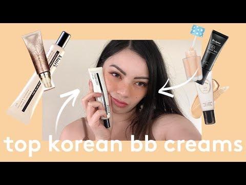 ✨MY TOP 5 KOREAN BB CREAMS ✨ BEST + FAVORITES 2019