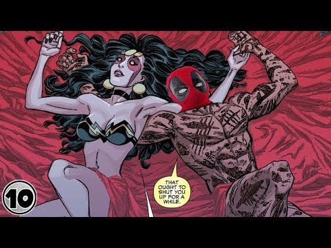 Top 10 Superheroes Who Hooked Up With Demons