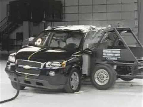 crash test 2006 2008 chevrolet uplander buick terraza. Black Bedroom Furniture Sets. Home Design Ideas