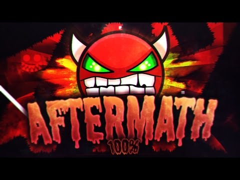 Aftermath 100% by Exenity & more (Extreme Demon) (On Stream) - Geometry Dash