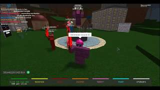 Roblox (Case Clicker) - Meeting the richest people on Case clicker , Secrets and unboxing