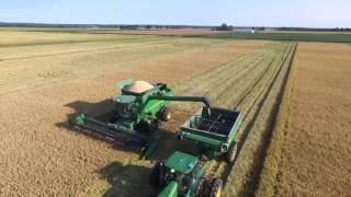 Rice harvest in Arkansas.