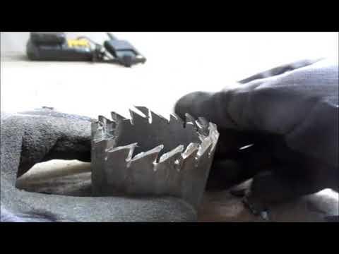 HOLE cutter WOOD | Homemade Hole Cutter