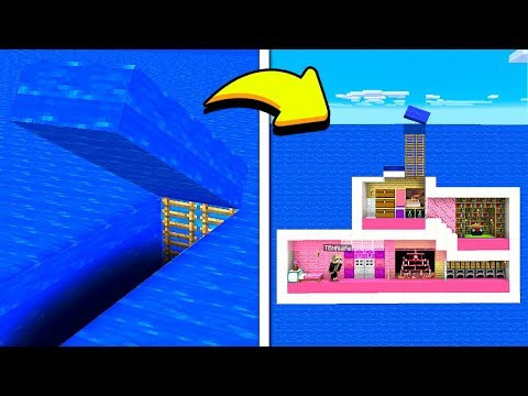 FINDING MY WIFE'S *SECRET* UNDERWATER MINECRAFT HOUSE!