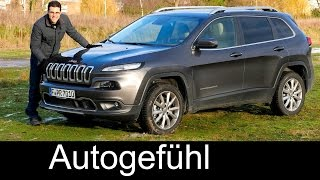 Jeep Cherokee FULL REVIEW test driven Limited 2016 - between Grand Cherokee and Renegade