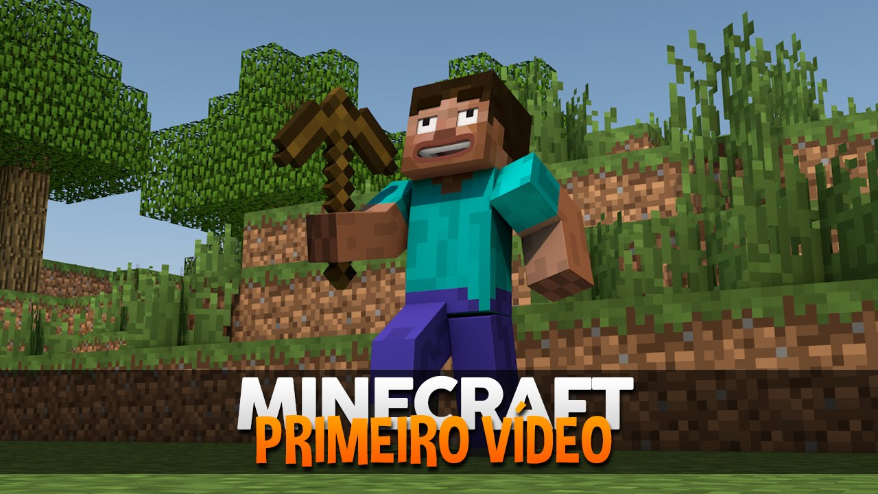 Minecraft Nostalgia #8: MEU PRIMEIRO VÍDEO! (O VÍDEO PERDIDO)