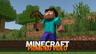 Minecraft Nostalgia #2: MEU PRIMEIRO VÍDEO! (O VÍDEO PERDIDO)