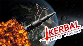 Using high school physics to do rocket science in Kerbal Space Program