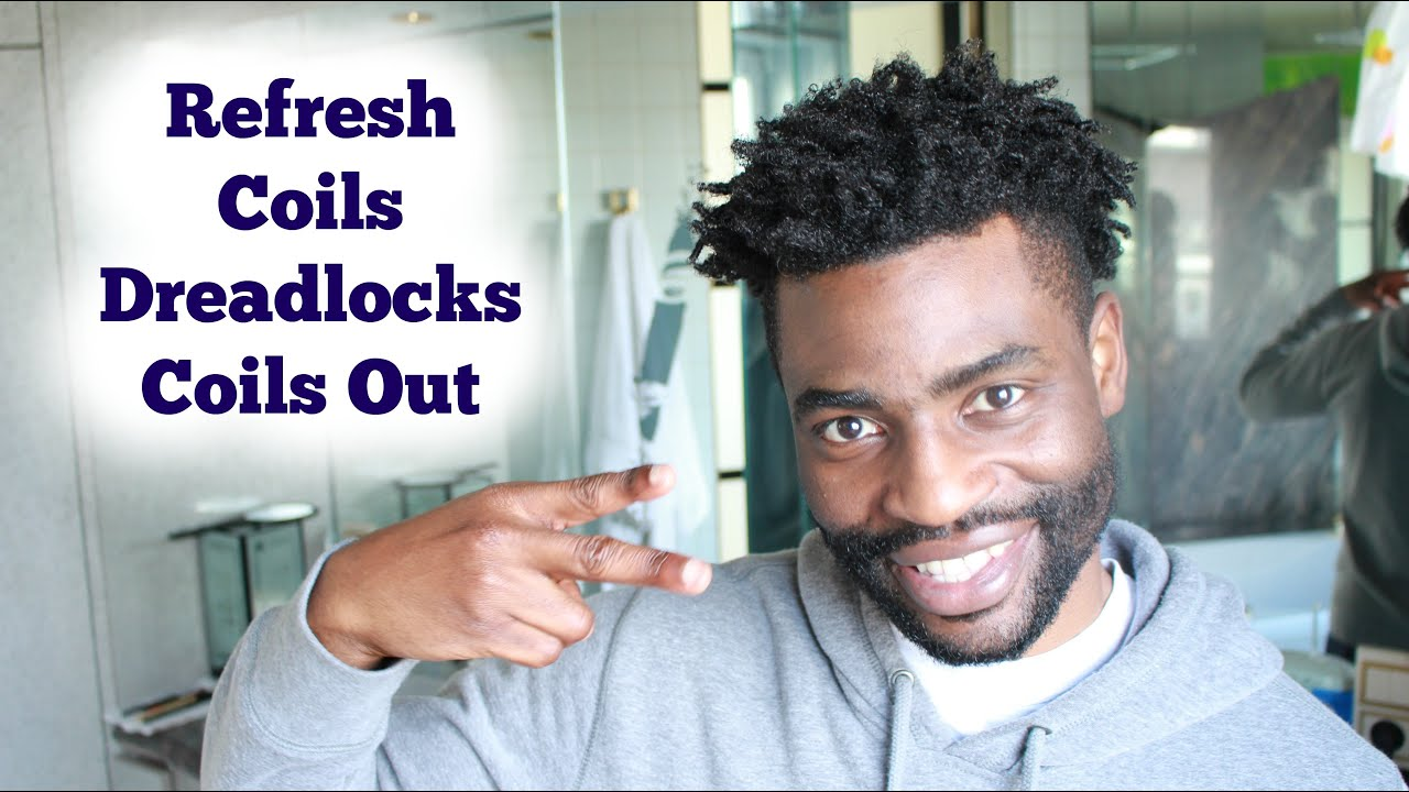 How To Maintain Finger Coils Out Coils Dreadlocks Locks