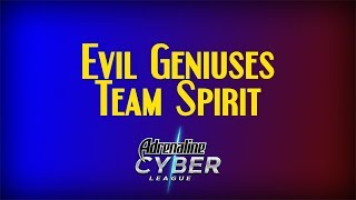 EG vs Team Spirit | Adrenaline Cyber League 2019