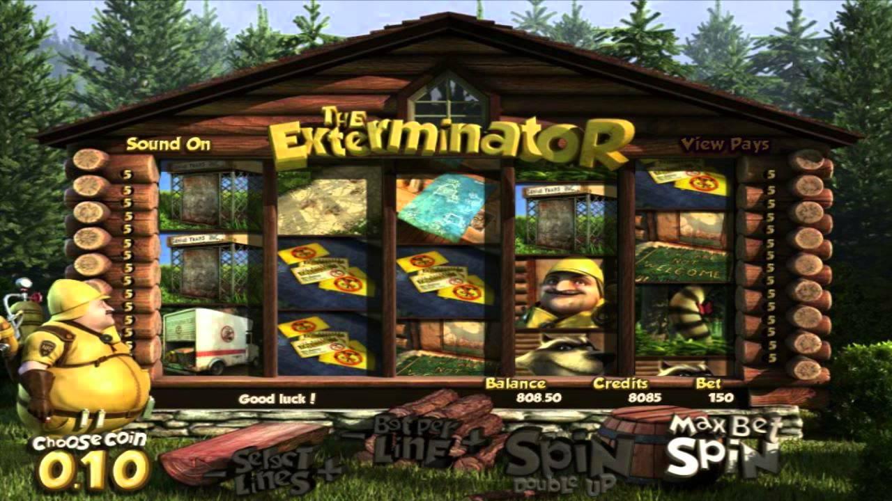 The Exterminator Slot Machine
