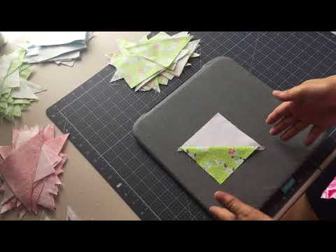 How to Press and Trim Quilt Squares