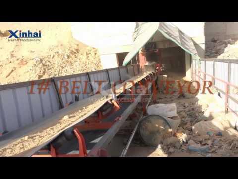 Crushing & Screening Equipment Used In Sudan Alitmad 700TPD Gold Processing Plant, Xinhai
