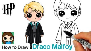 How to Draw Draco Malfoy Easy | Harry Potter