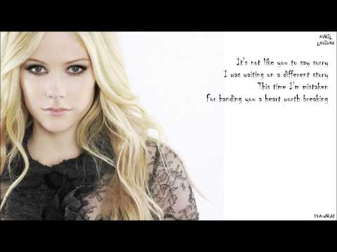 Avril Lavigne - How You Remind Me [Lyrics]