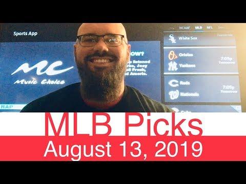 MLB Picks (8-13-19) | Part 1 of 2 | Major League Baseball Expert Predictions | Vegas Lines & Odds