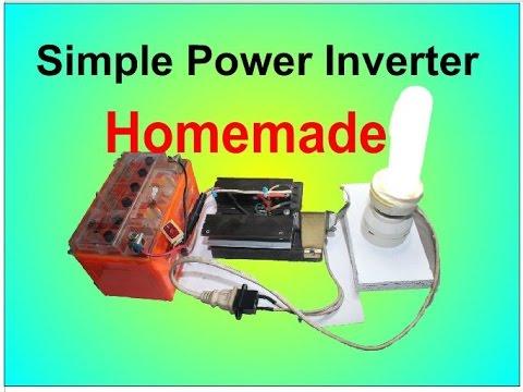 Making Simple Inverter - YouTube