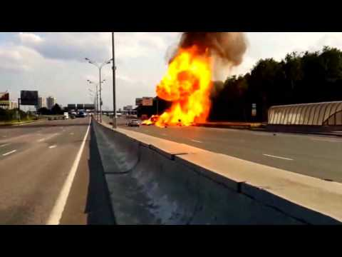 gas car exploded