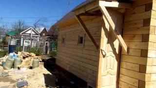 видео Как построить баню под ключ экономно?