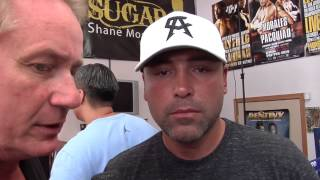 RingTV reports: Canelo Alvarez media day workout/interview