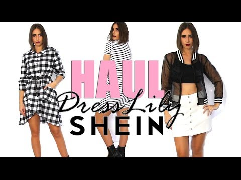 FASHION HAUL - SOLDES | Shein, Dresslily