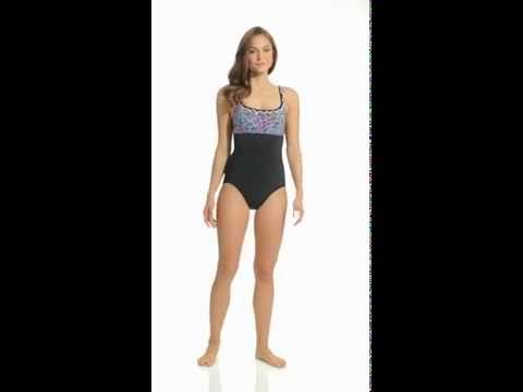 Gottex Reflection Bandeau Swimsuit 1001070 from YouTube · Duration:  22 seconds