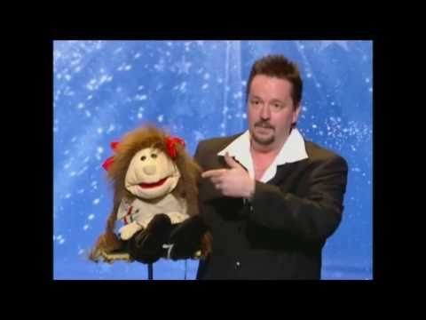 Terry Fator Audition on AGT featuring Emma Taylor singing AT LAST