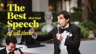 The Best (Best Man) Speech: My quest to do the best speech of all time.