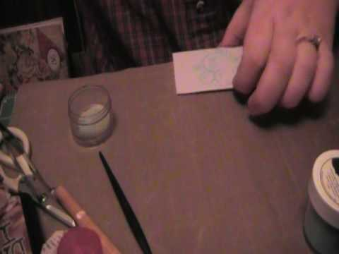 make your own distress embossing powder home made diy tutorial youtube