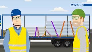 Arten der Ladungssicherung - LKW WALTER