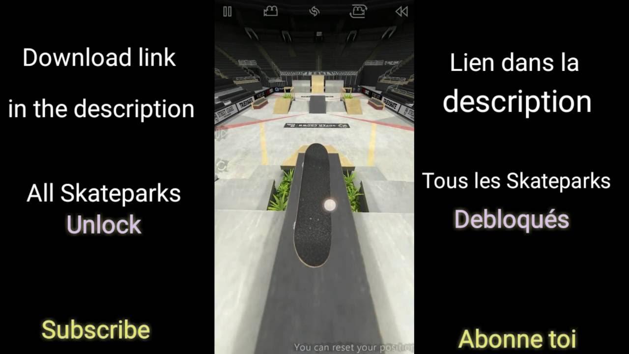true skate maps download