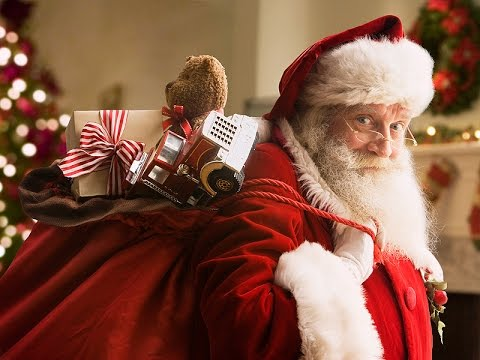we saw santa in our house delivering presents fun times - Santa Claus Presents