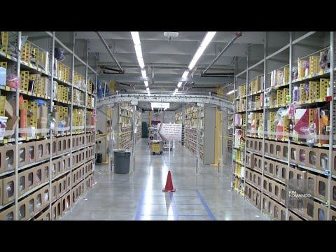 Inside Amazon's robot-human assembly line