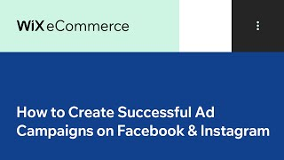 Advertising on Facebook & Instagram | Facebook Ads by Wix | Wix.com