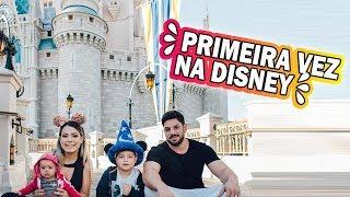 PRIMEIRA VEZ NA DISNEY - MAGIC KINGDOM #FamiliaCastricini #ep03 | Kathy Castricini
