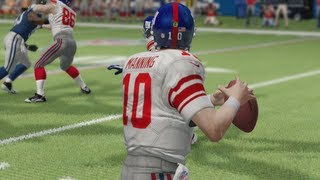 Madden 25 Online Gameplay - Eli Manning Is the Miracle Man!