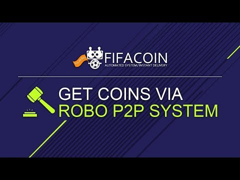 How to get coins via Robo P2P System on FIFACOIN