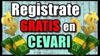 Registrarte en Cevari
