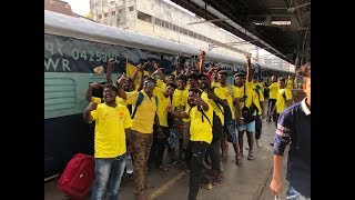 CSK2018  | IPL 2018  | HARDCORE CSK FANS TRAVEL TO PUNE TO WATCH CSK MATCHES  | nba 24x7