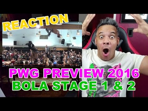 PWG Preview 2016 Battle of Los Angeles - Stage  One & Two REACTION!!!