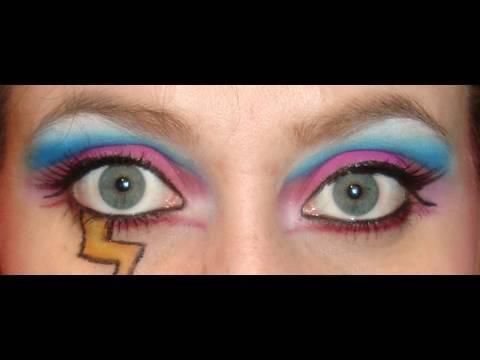 Bien-aimé Maquillage 80's - Participation au concours de praline44 - YouTube NL93