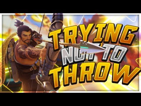 Trying Not To Throw! - Seagull - Overwatch