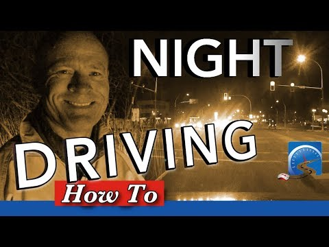How to Drive at Night :: Tips & Techniques to Safely Drive in the Dark