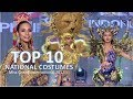 Miss Grand International 2017: Top 10 Best In National Costumes - Full Hd