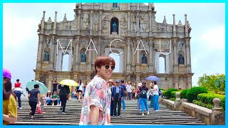 MACAU VLOG Ft. Jimin | WE PERFORMED REWRITE THE STARS✨