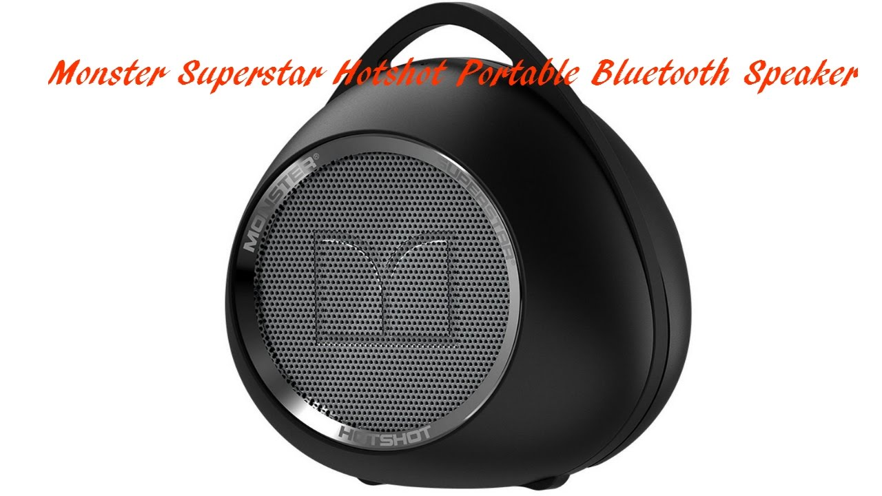 Monster Superstar Hotshot Bluetooth Speaker