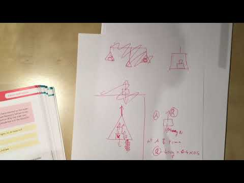 14  Connected Particles Part 2, Lifts   Chapter 10 Section 5 Edexcel Applied AS Level Maths