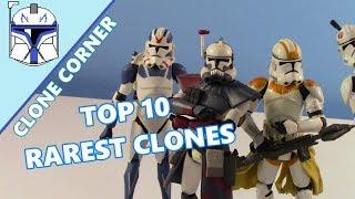 """Clone Corner #20: The Top 10 RAREST 3.75"""" CLONE TROOPER FIGURES"""